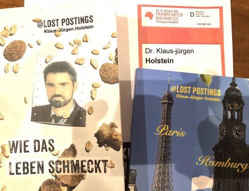 Bin Mittwoch bis Freitag auf der Buchmesse in Frankfurt
